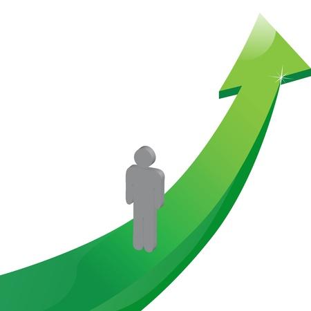 ascending: Flecha hacia arriba
