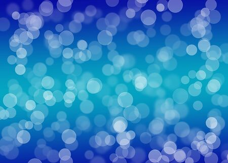 Bright blue christmas background photo