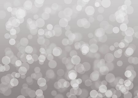 Bright silver christmas background photo