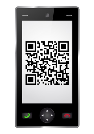 qrcode: Handy with QR-Code