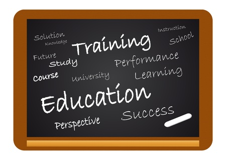 Chalkboard Education Stock Vector - 10267254