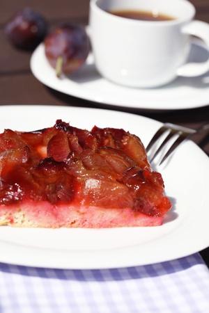 Plum cake photo