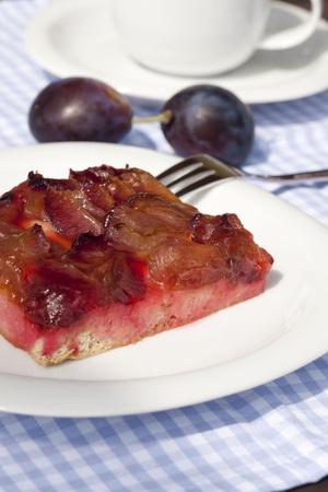 Gourmet fruit cake - plum cake photo