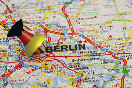 Berlin with Pin photo