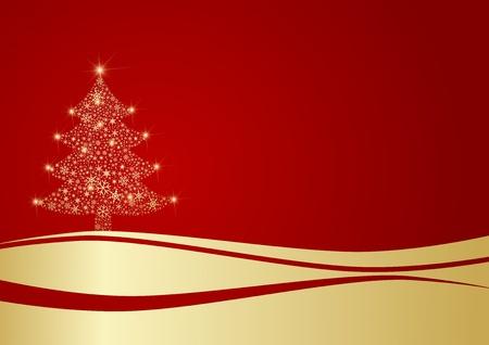 weihnachten: Christmas Tree Illustration