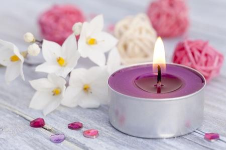 kerzen: Wellness bei Kerzenschein
