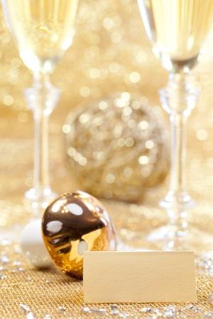 Happy new year decoration Stock Photo - 11532138