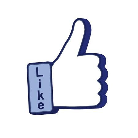 thumb up Stock Vector - 14420255