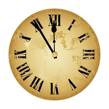 orologio da parete: E 'quasi mezzogiorno s ad alta