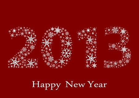 sylvester: Happy new Year 2013 Illustration