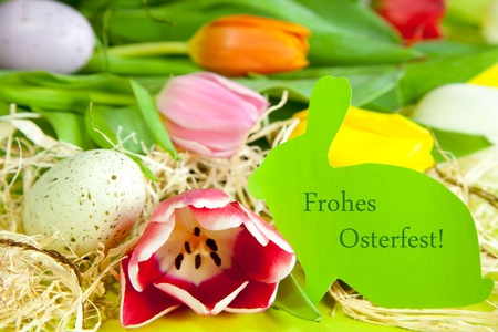 osterfest: Frohes Osterfest