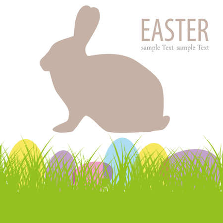 Easter bunny Stock Vector - 14420314
