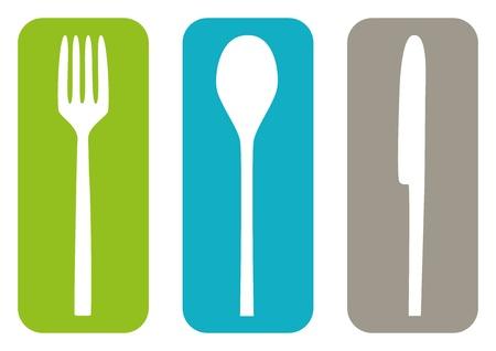 fork glasses: Posate Icons