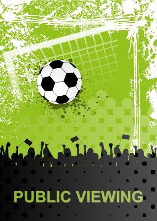 campeonato de futbol: Public Viewing