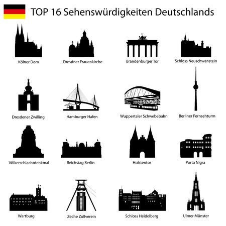 frankfurt: Top 16 germany architecture  Illustration