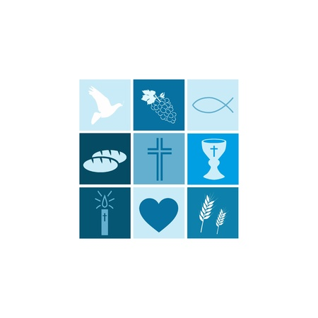 Communion boy Illustration