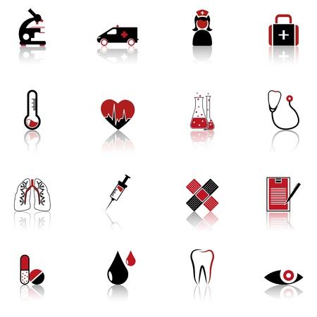 Medical symbols, tools, and medicine Stock Vector - 14252047