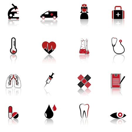 Medical symbols, tools, and medicine Stock Vector - 14252047