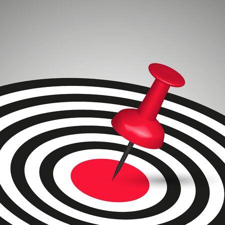 Success target  Stock Vector - 14251851
