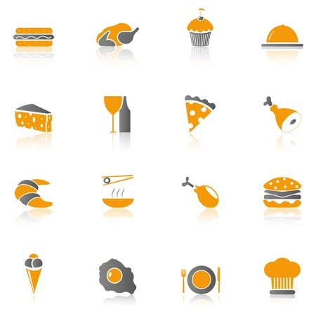 Food icons - Part 1 Vector