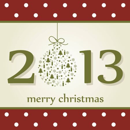 happy new year 2013 Stock Vector - 14420343