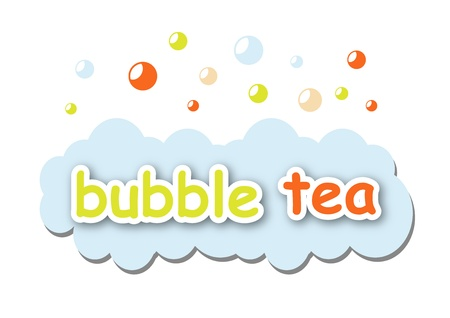 chinese tea: Bubble tea Illustration