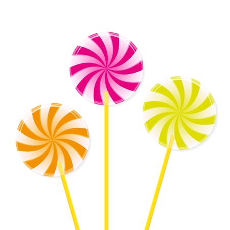 colourful candy: Lollipops
