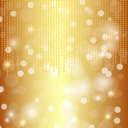 Glittery gol background Stock Vector - 15593593