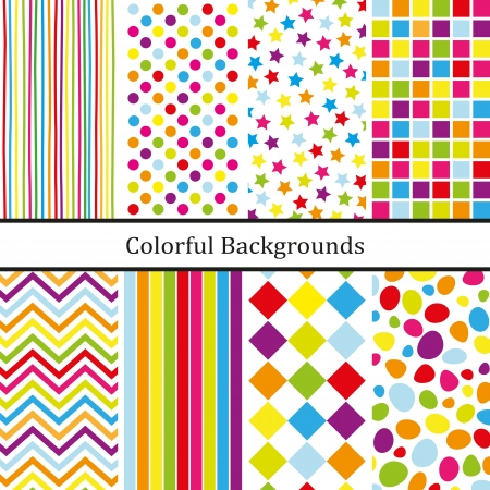 Colorful backgrounds Stock Vector - 19829877