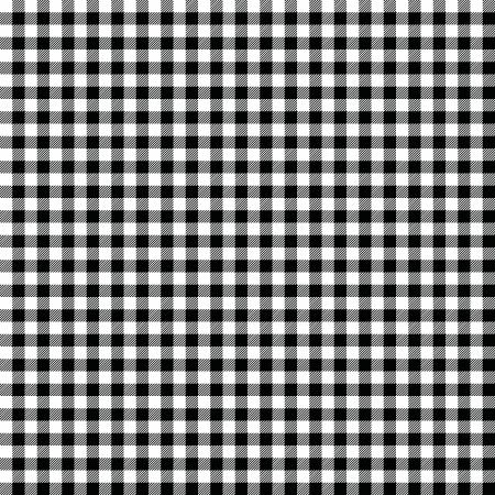 Zwart-wit geruite achtergrond Stock Illustratie