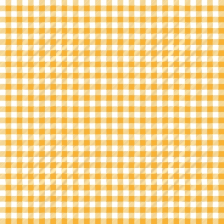 picnic blanket: Orange checkered background