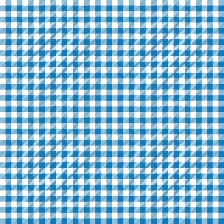 table surface: Blue checkered background