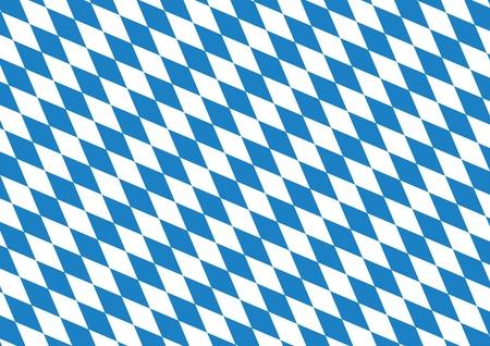 Oktoberfest blue background Illustration