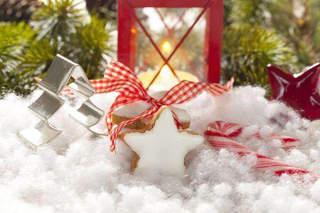 perfumed candle: Christmas cookies