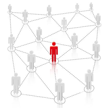 blue network: Social Media