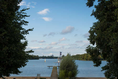 The Maschsee - Lake Hanover (Lower Saxony  Germany)