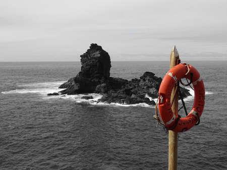 Life belt at La Palma / Canary Islands