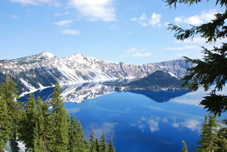 Crater Lake National Park, Oregon 版權商用圖片