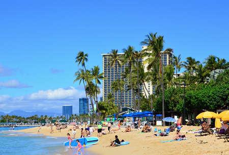 Waikiki Beach, Ohau, Hawaii