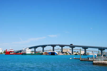 Bridge in Nassau, Bahamas