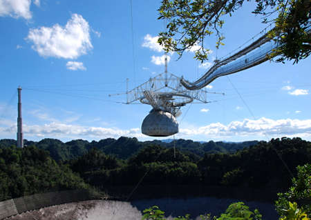 Radio Telescope in Arecibo, Puerto Rico