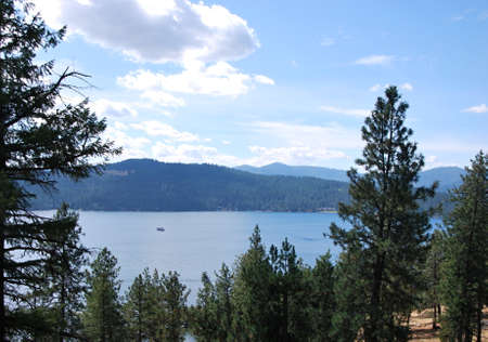 Coeur d Alene, Idaho Stock Photo