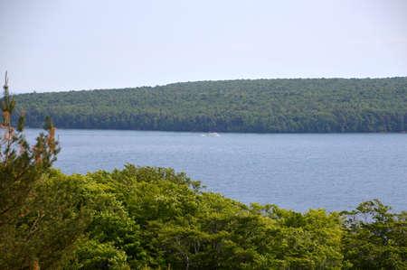 Lake Superior, Michigan Reklamní fotografie