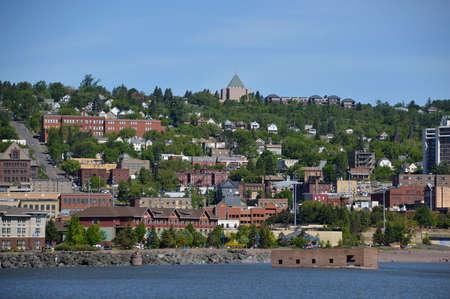 Skyline of Duluth, Minnesota Reklamní fotografie