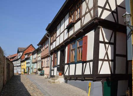 Old Town of Quedlinburg, Saxony - Anhalt