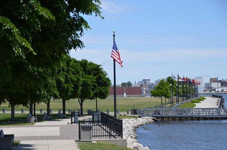 River Walk at Green Bay, Wisconsin