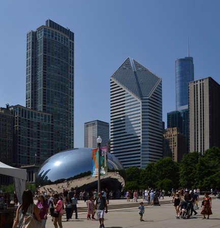 Downtown Chicago. Illinois