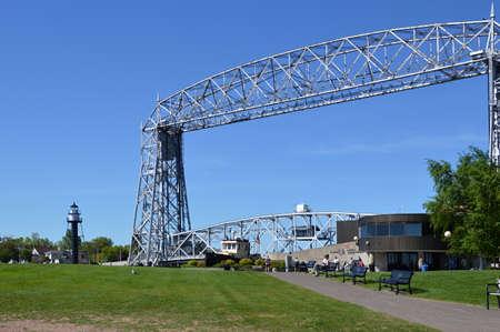 Steel Bridge in Duluth, Minnesota