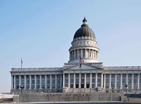 State Capitol in Salt Lake City, Utah