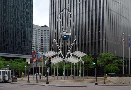 Downtown St. Paul. Minnesota Editorial
